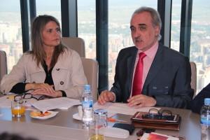 Rosario Rey y Salvador Molina, ECOFIN